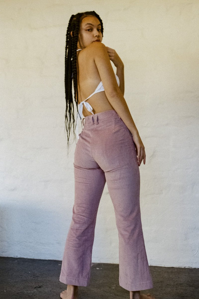 SISTER 'Divine' Pant – Dusty Pink Corduroy | THENINETYNINE Online Store