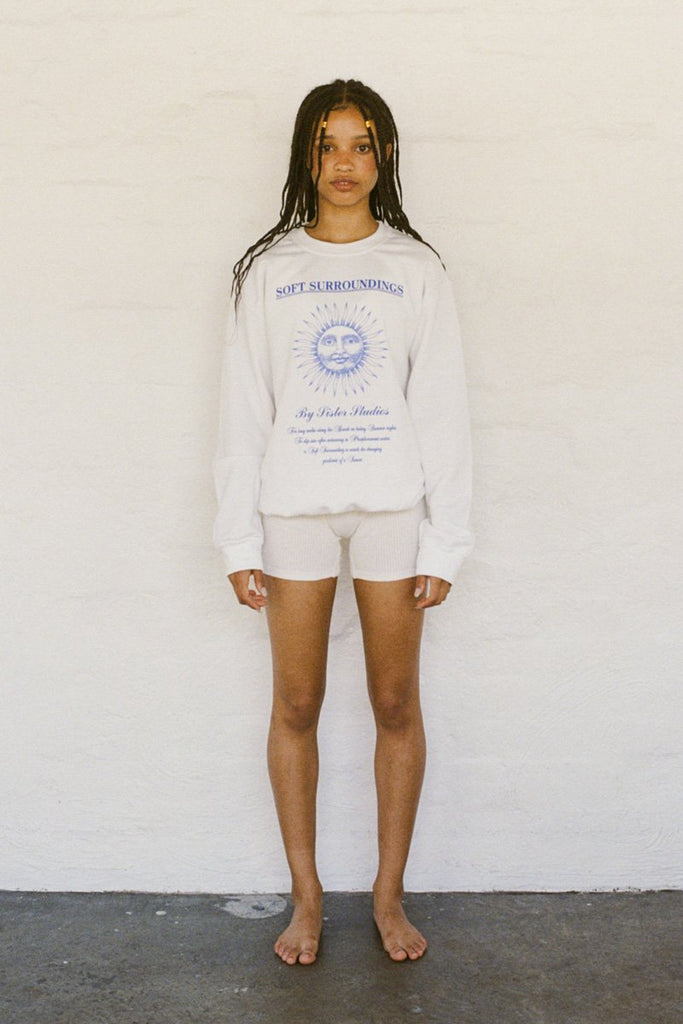 SISTER Soft Surroundings Sweatshirt – White | THENINETYNINE Online Store