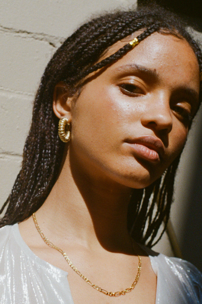 Reliquia Spiral Hoop Earrings – Yellow 18ct Gold Filled | THENINETYNINE Online Store