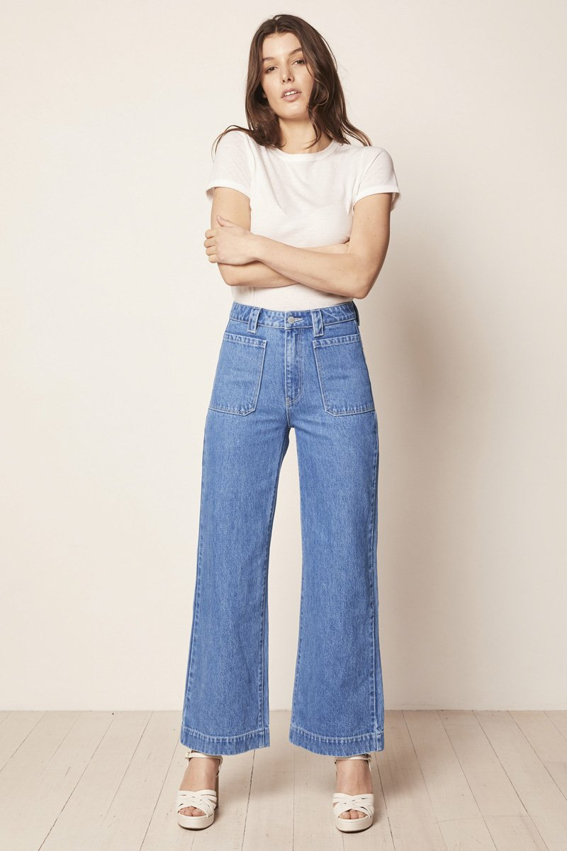 ROLLA'S Sailor Jeans – Crystal Blue - THENINETYNINE