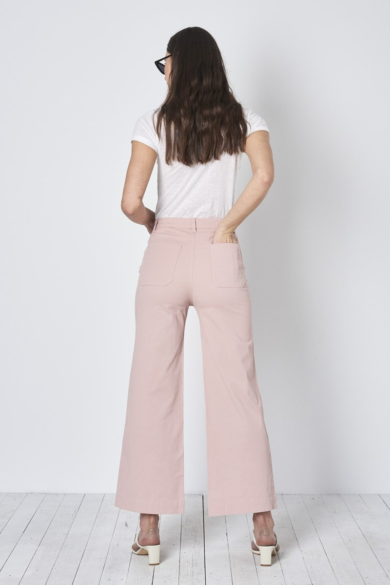 ROLLA'S Old Mate Pant – Dusty Pink - THENINETYNINE