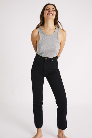 ROLLA'S Original Straight Jeans – Ash Black - THENINETYNINE