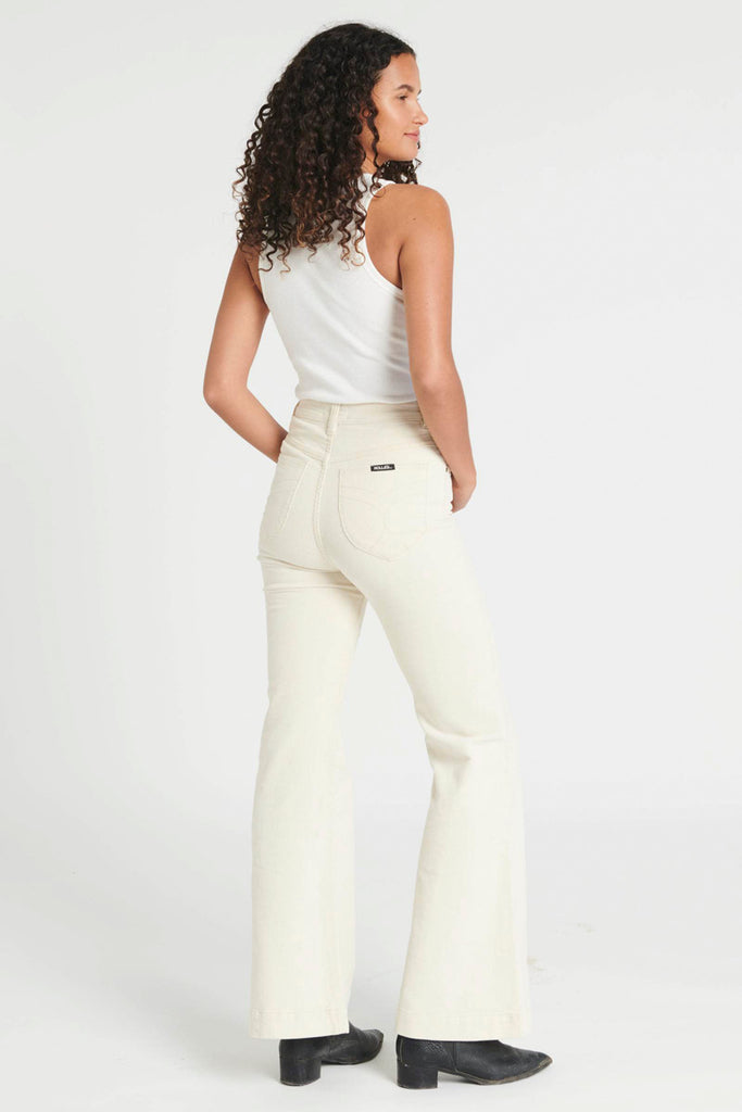 ROLLA'S Eastcoast Flare Jeans – Vanilla Cord | THENINETYNINE Online Store