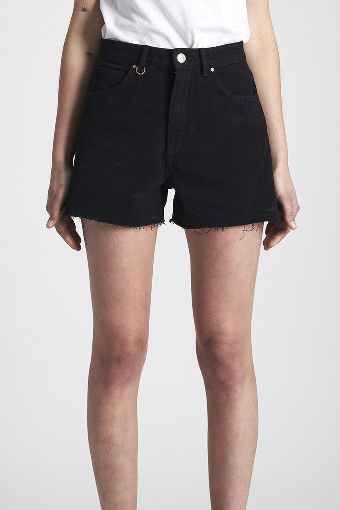 NEUW 'Ryder' Denim Shorts – Black Thunder | THENINETYNINE Online Store