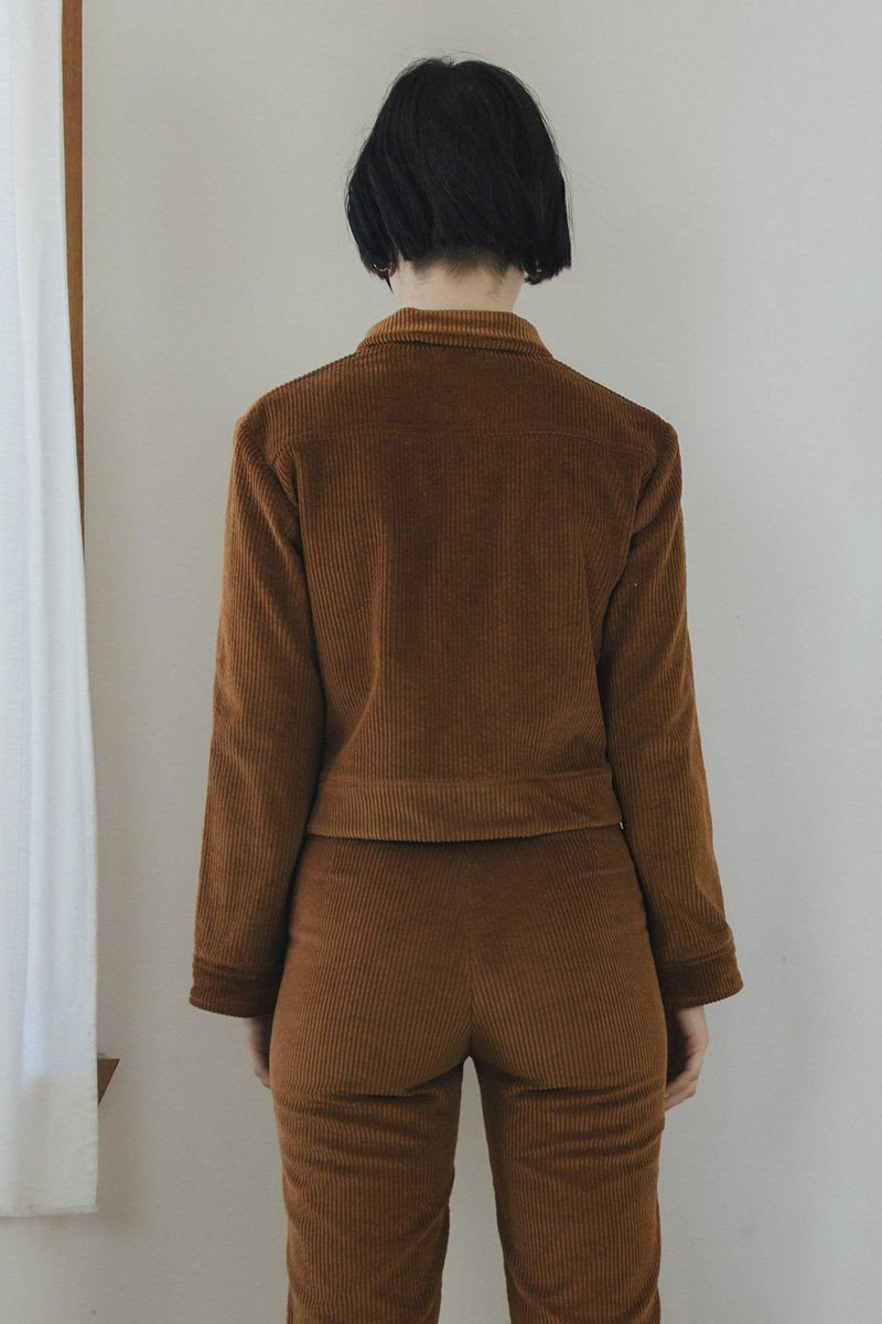 SISTER 'Divine' Jacket – Toffee Brown Corduroy