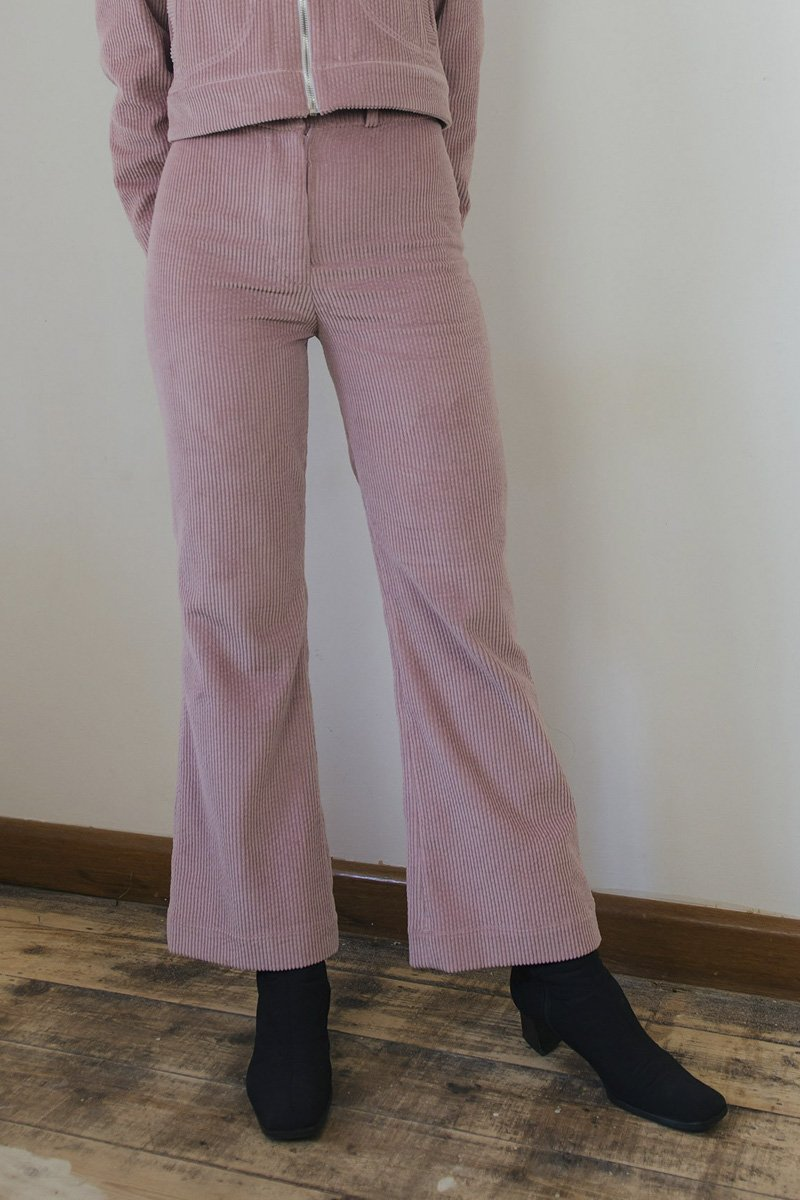 SISTER 'Divine' Pant – Dusty Pink Corduroy - THENINETYNINE
