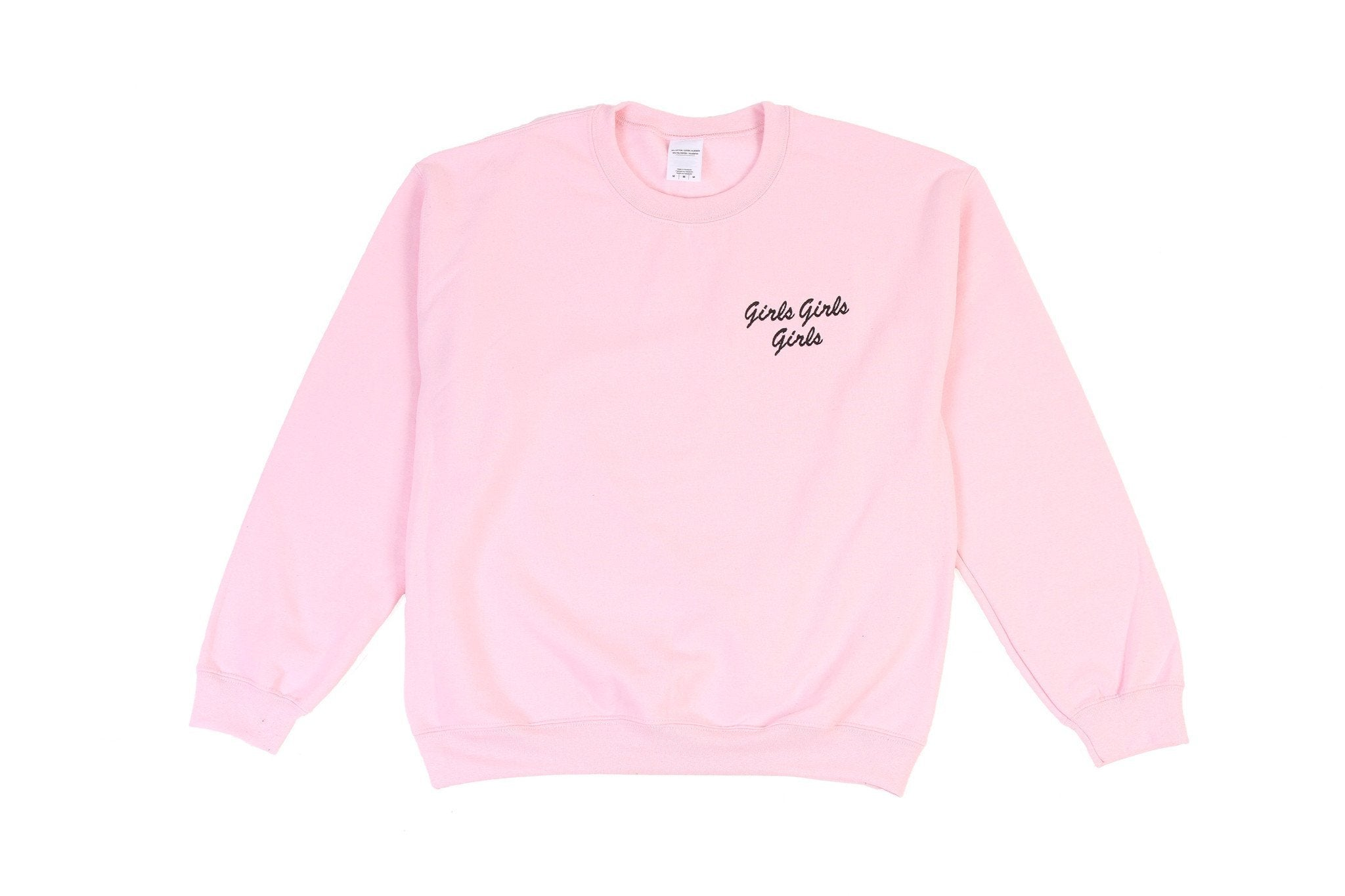 Double Trouble Gang 'Girls Girls Girls' Embroidered Jumper - THENINETYNINE