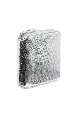 Georgia Mae 'The Gidget' Wallet in Silver | THENINETYNINE Online Store