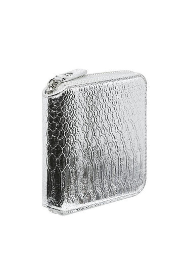 Georgia Mae 'The Gidget' Wallet in Silver - THENINETYNINE
