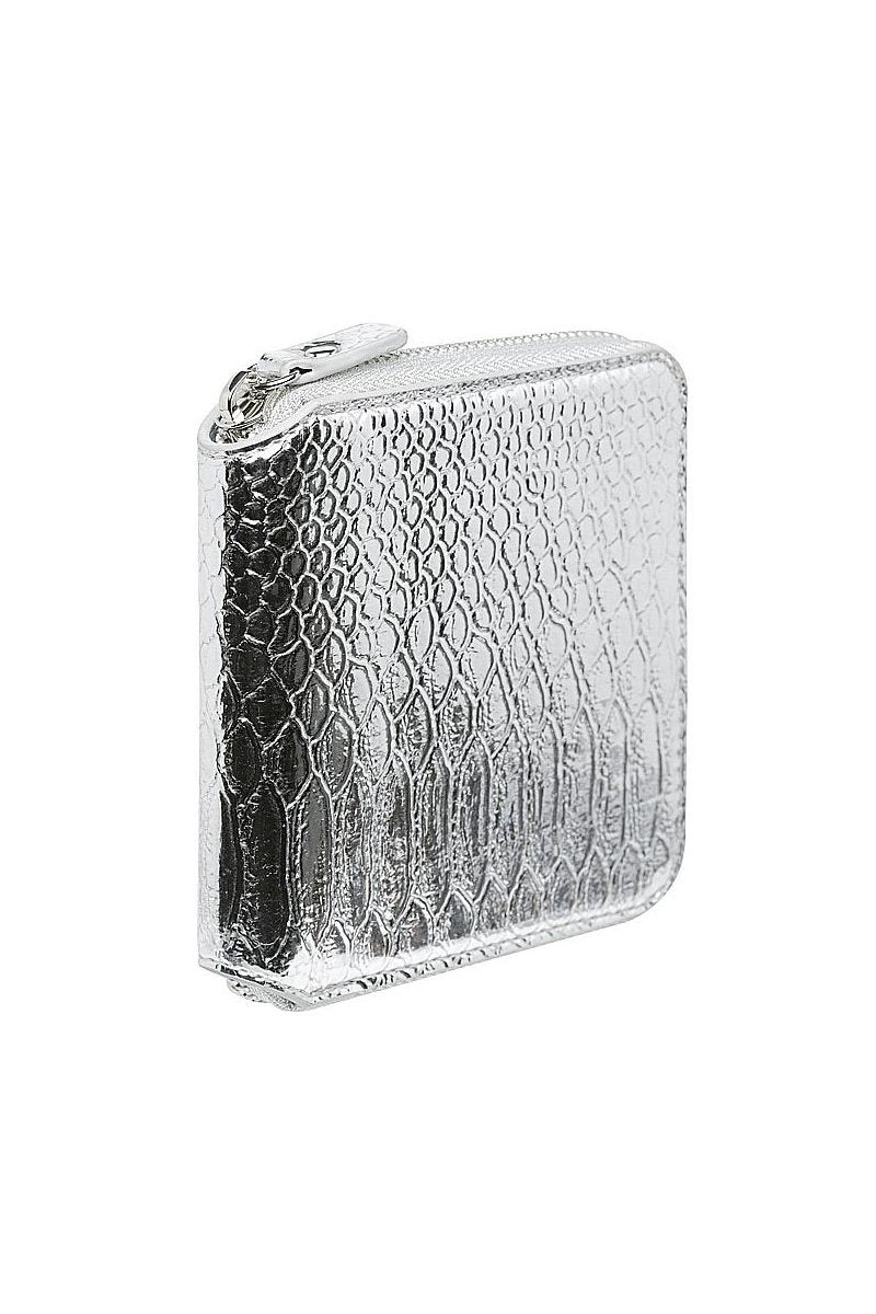 PRE-ORDER | Georgia Mae 'The Gidget' Wallet in Silver - THENINETYNINE