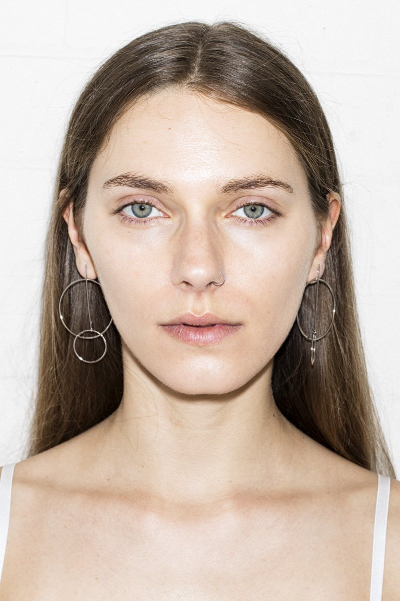 In The Loop Earrings – Silver