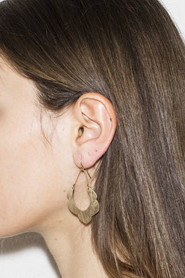 Erika Lipps 'Nothing Is Real' Earrings – Gold - THENINETYNINE