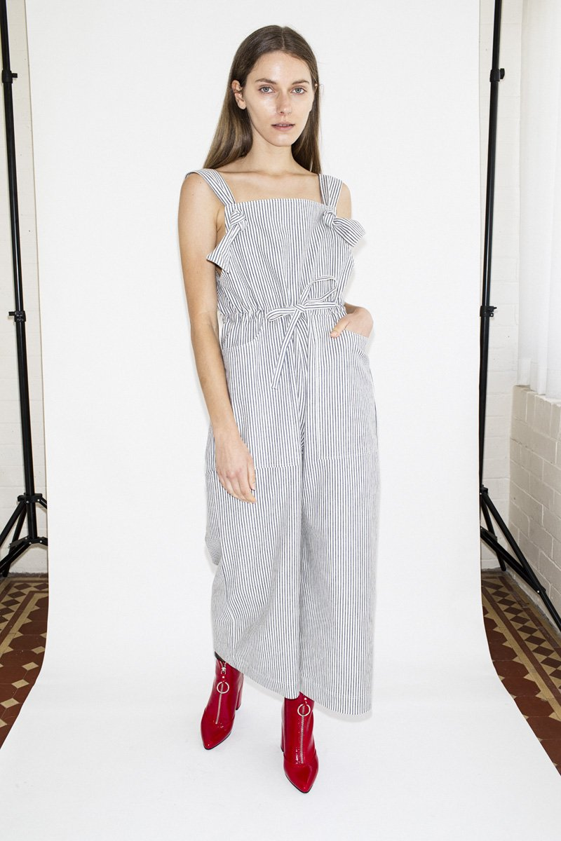 PRE-ORDER | Hunter 'Eva' Jumpsuit – Stripe