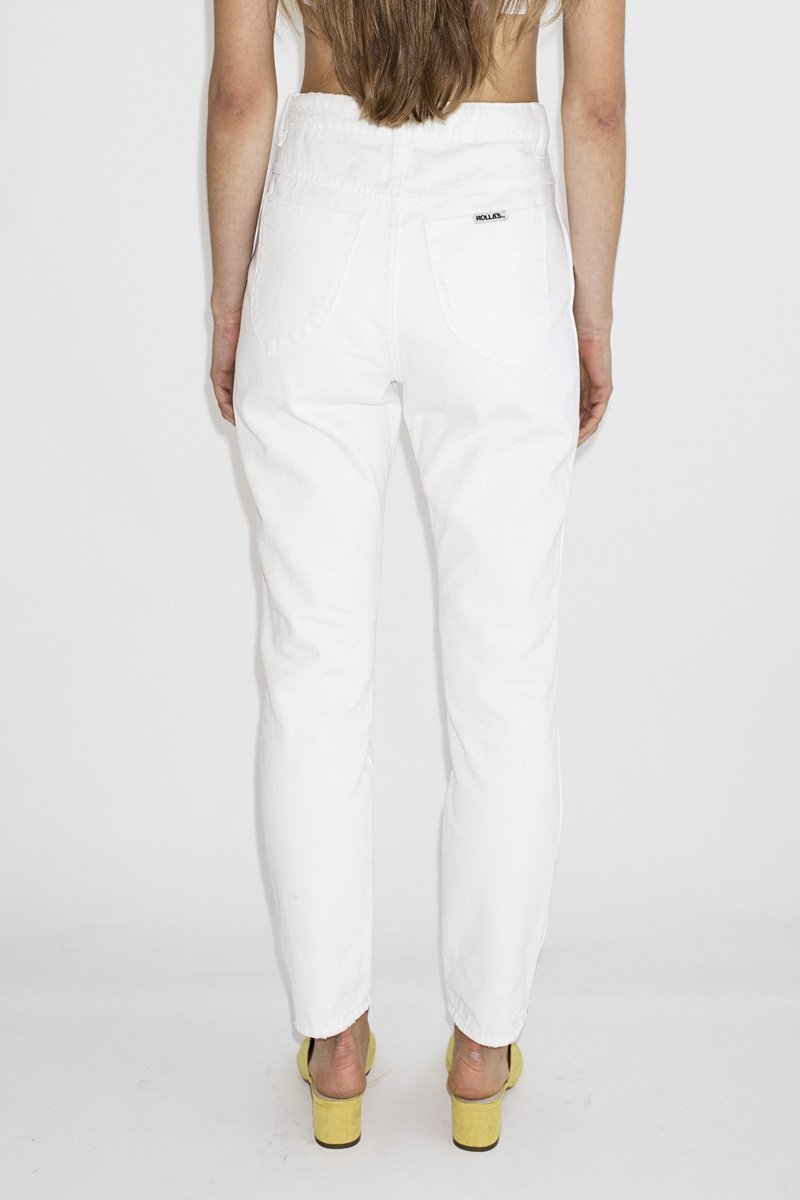 Rolla's Dusters Jeans – White Light