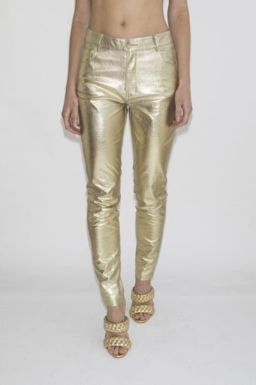 LENNI 'Astral' Jeans – Gold - THENINETYNINE