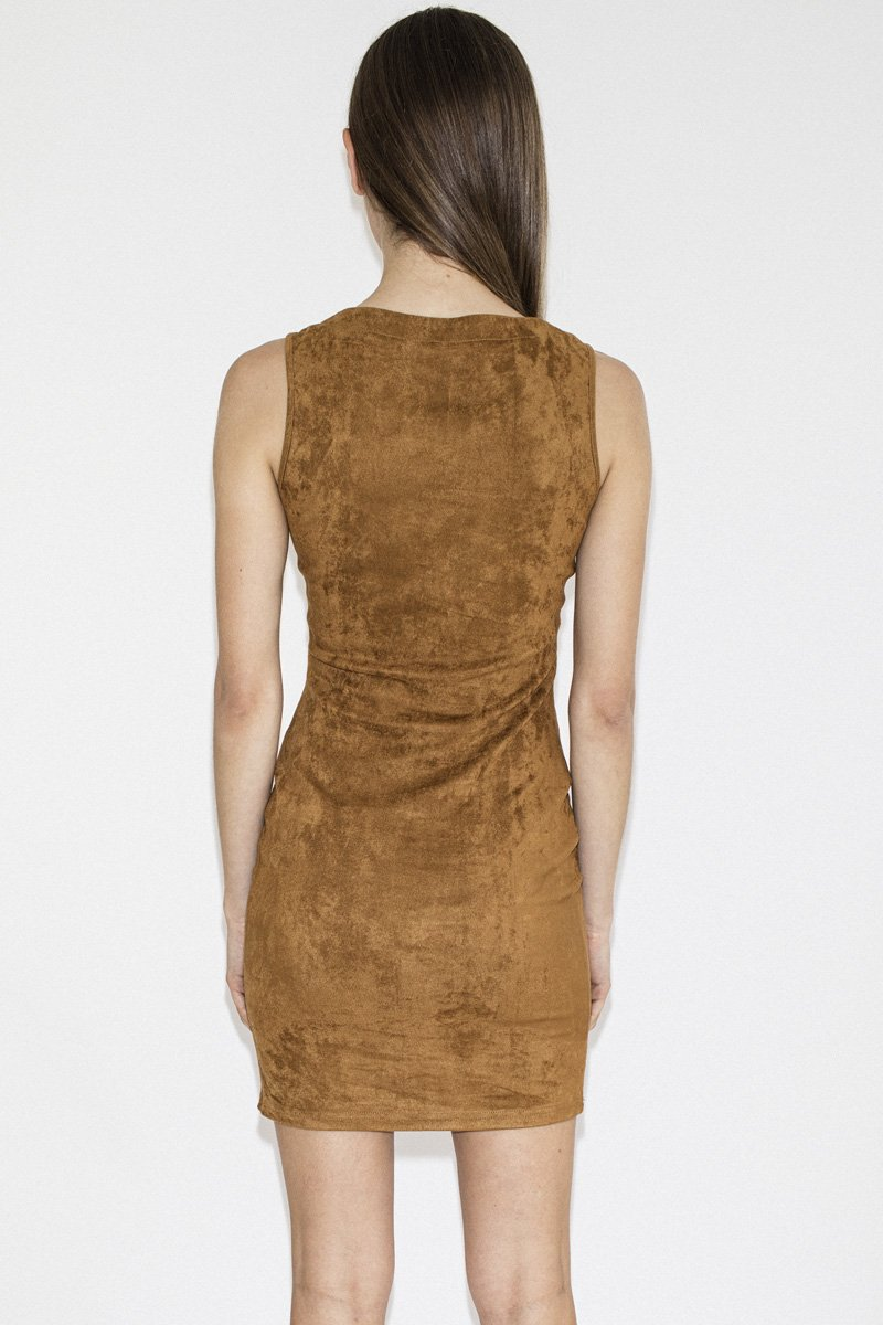 LENNI 'Bolt' Dress – Tan