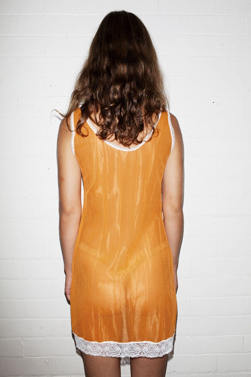 Vintage Slip Dress – Orange