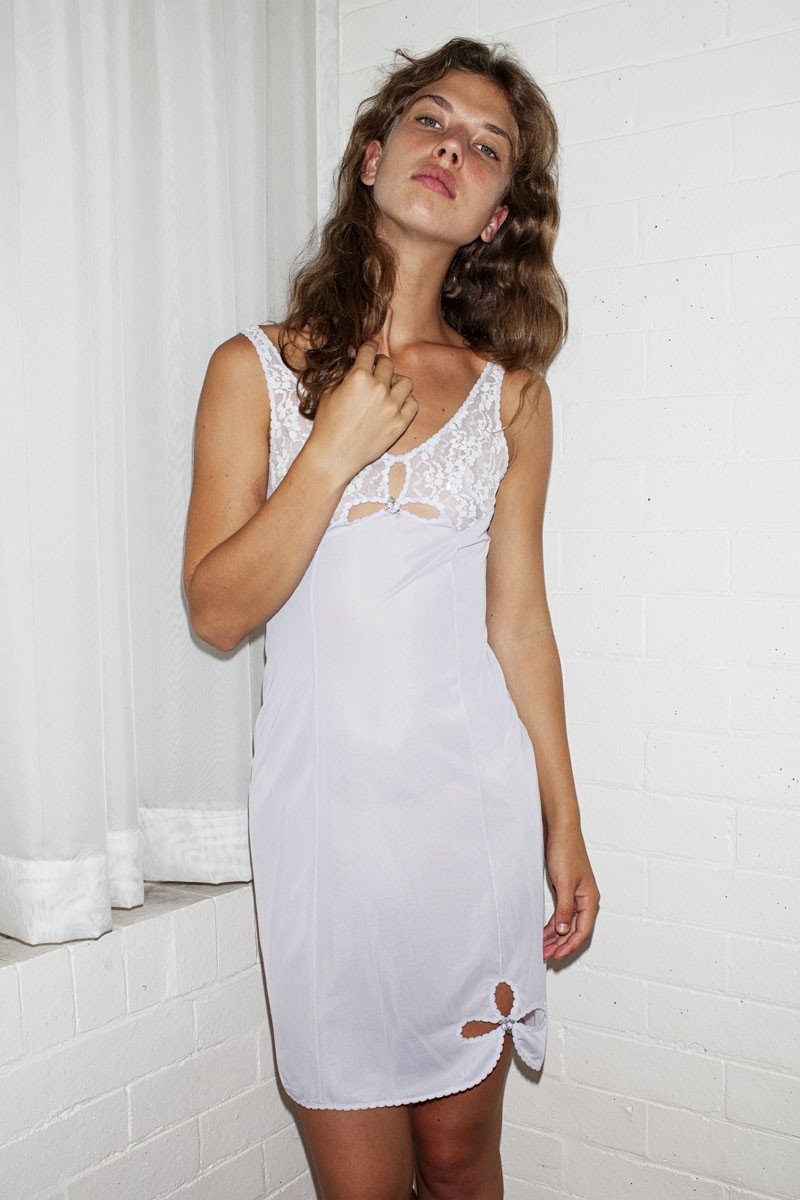 Vintage Slip Dress – Purple - THE NINETY NINE - 4