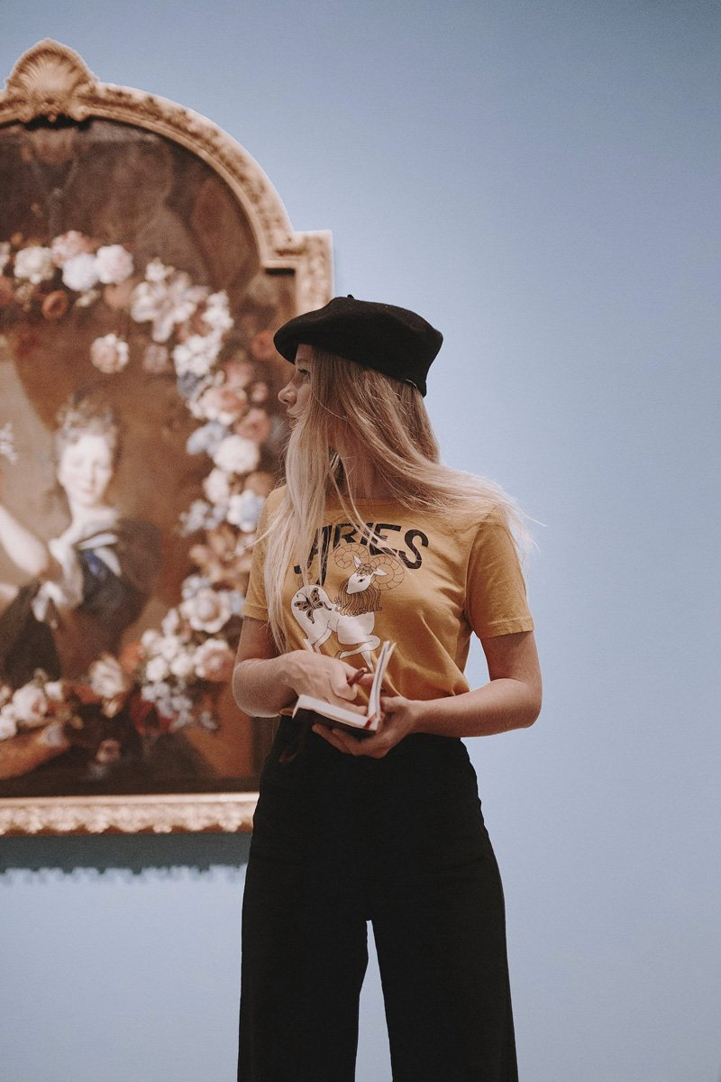 Sugarhigh Lovestoned 'Aries' Horoscope T-shirt - THENINETYNINE