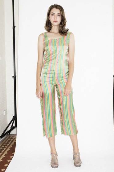 Vintage Happy Rainbow Jumpsuit - THENINETYNINE