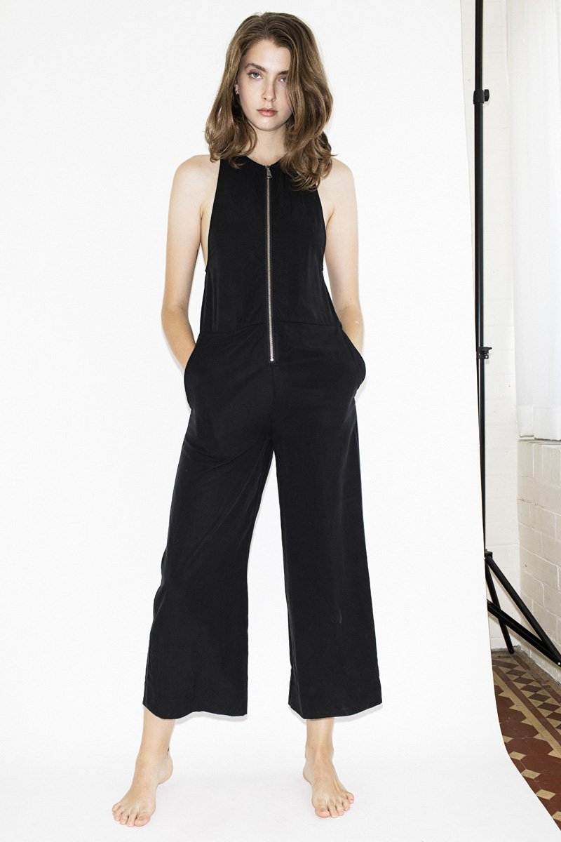 NEUW 'Adrien' One Piece Jumpsuit – Black - THENINETYNINE
