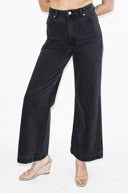 ROLLA'S Old Mate Jeans – Charcoal Stone - THENINETYNINE