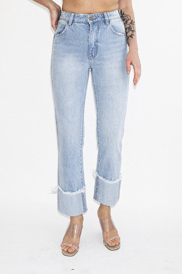 ROLLA'S Original Straight Jeans – Turn Up Worn - THENINETYNINE