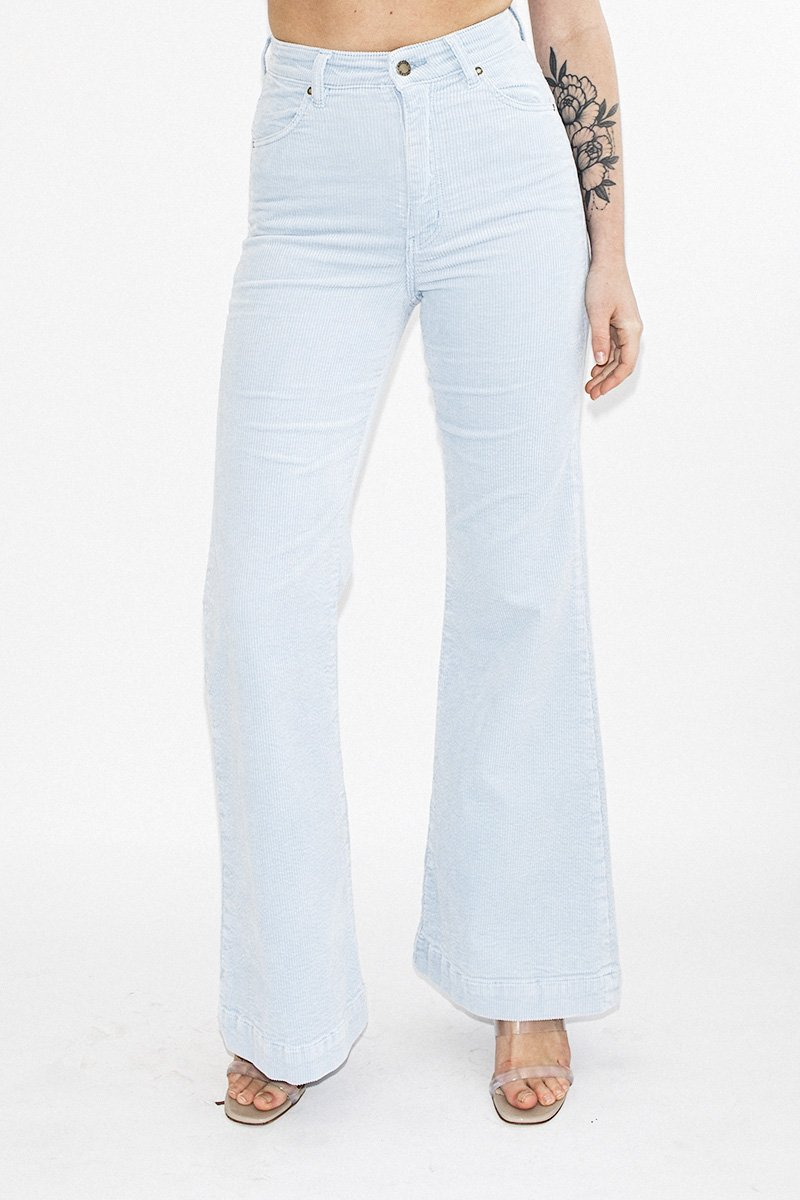 ROLLA'S Eastcoast Flare Jeans – Baby Blues - THENINETYNINE