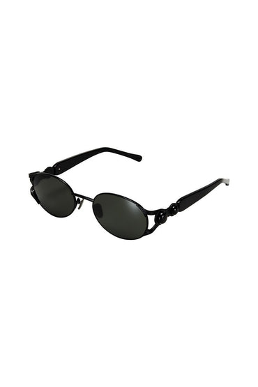 POMS 'Oro' Sunglasses – Black with Onyx - THENINETYNINE