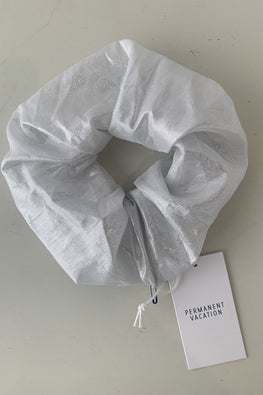 PERMANENT VACATION Reflection Scrunchie – Mineral | THENINETYNINE Online Store