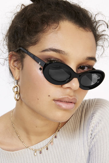 POMS 'Giro' Sunglasses – Black - THENINETYNINE