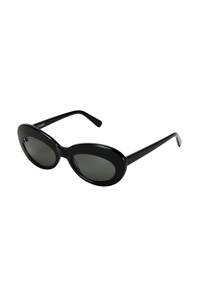 POMS 'Sabina' Sunglasses – Black with Onyx - THENINETYNINE