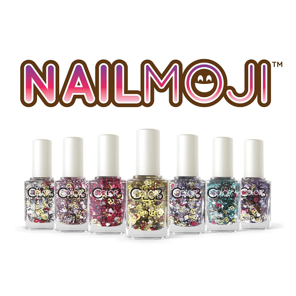 Holographic Glitter and Emojis Polish for Cool-Girls