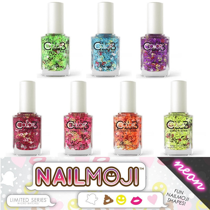 One-Of-A-Kind Nail Moji Polish by ColorClub – HB Beauty Bar
