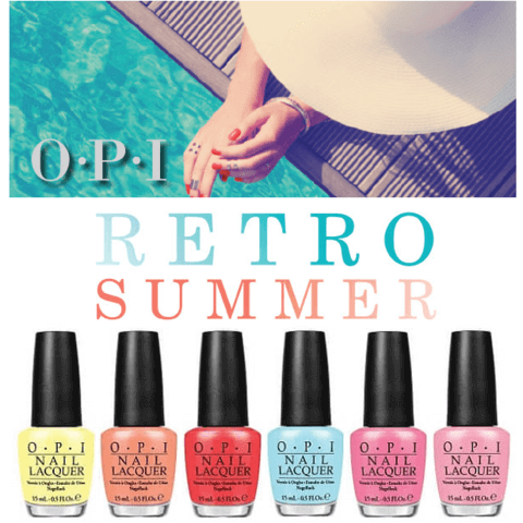 Dive into Summer with OPI Retro Summer Collection