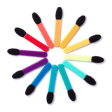 rainbow applicators - the crème shop - makeup applicators
