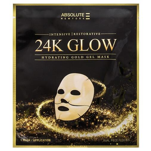 24k glow mask - absolute new york - face mask
