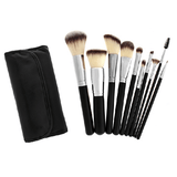 516 - 10 Piece Professional Syntho Brush Set - crown brush - makeup brushes
