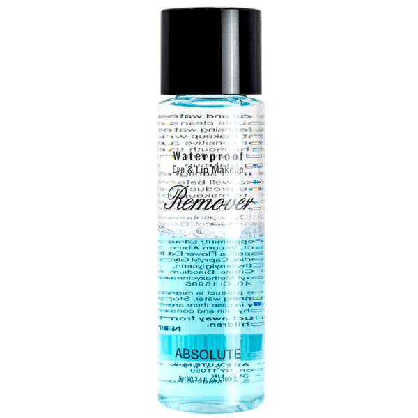 eye makeup remover - absolute new york - makeup remover