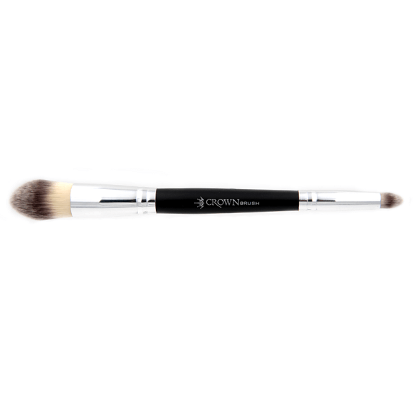 AC011 Deluxe Double Sided Blender Brush - crown brush - makeup brushes 2