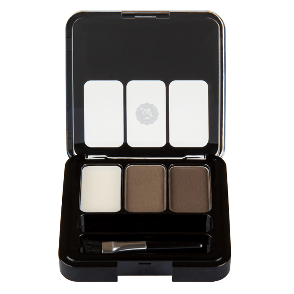 hd eyebrow kit - absolute new york - aebk05 cocoa