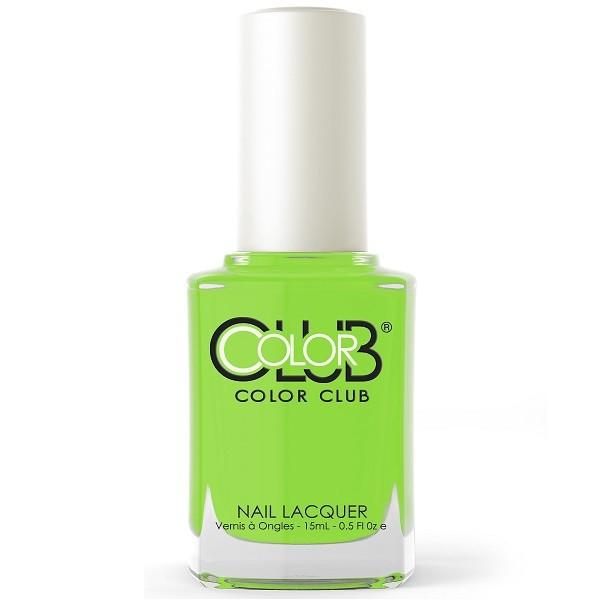 we liming - color club - nail polish