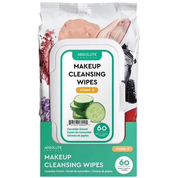 Absolute New York Makeup Cleansing Tissue 60 Pack