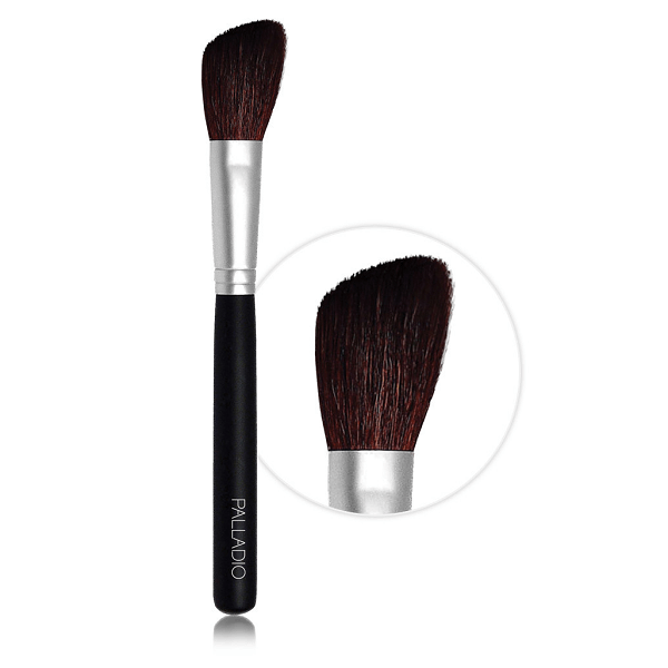 angle blush brush - palladio - makeup brush