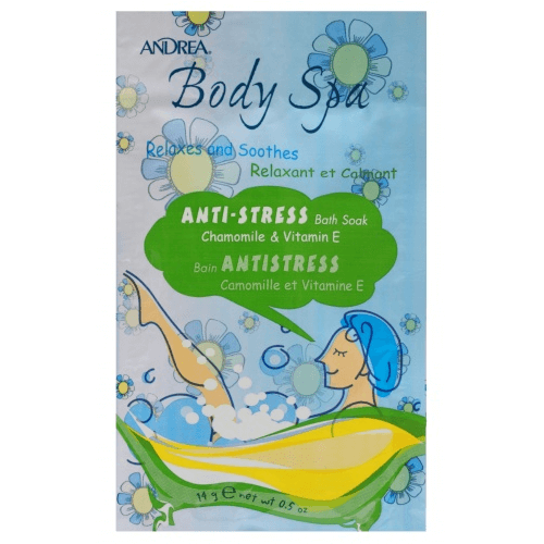 Body Spa Anti-Stress Bath Soak Chamomile & Vitamin E - Andrea - Bath Soak