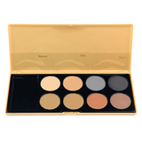 brow01 8 color brow color brow palette - crown brush - brows