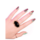 bed of riches - ncla - nail wraps 3
