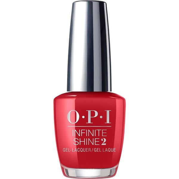 Big Apple Red - opi infinite shine - nail lacquer