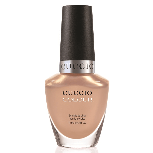 I want moor - cuccio - nail polish