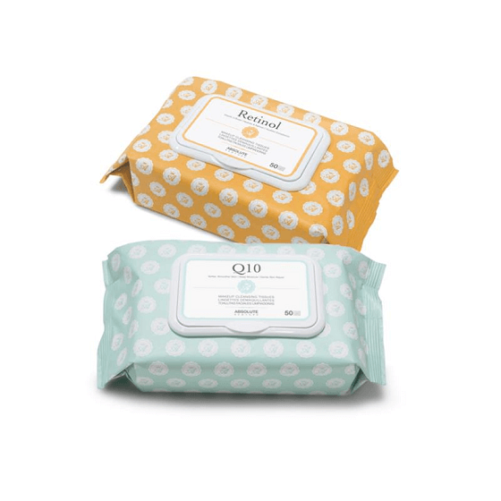 Luxurious Makeup Cleansing Tissue - Absolute New York - Cleansing Tissue